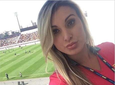 Andressa Urach não conseguiu reencontrar Cristiano Ronaldo Foto: Instagram / Reprodução
