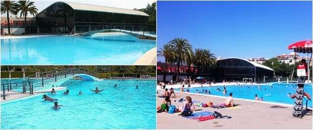 Un gran lago una piscina con vistas y otros ba os for Piscina can drago horarios