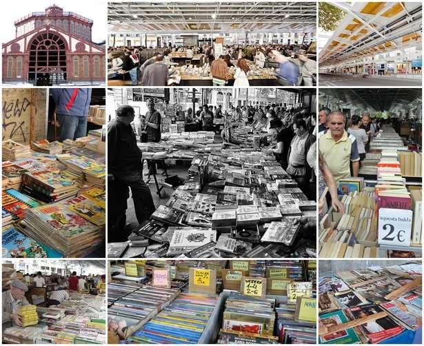 La versi n dominical y de segunda mano del mercado de sant - Mercado segunda mano barcelona ...