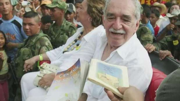 """Gabo"" era alma do realismo mágico e militante político Video: AFP"