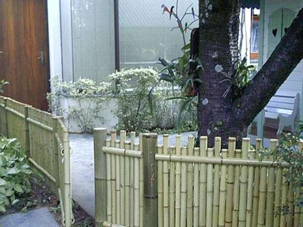 cerca de jardim ferrocerca de galhos pode substituir portões de