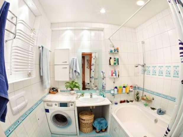 Dicas de especialistas ajudam a organizar banheiros pequenos -> Ampliar Banheiro Pequeno