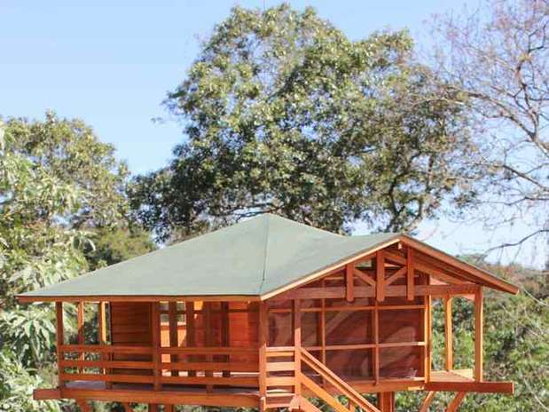 Casa na rvore ganha requinte e vira lugar de adultos - Tende foto casa ...