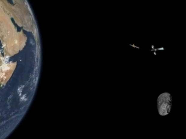 No dia da passagem, a Nasa estará monitorando a movimentação do asteroide, que passará perto da Terra Foto: NASA / Reprodução