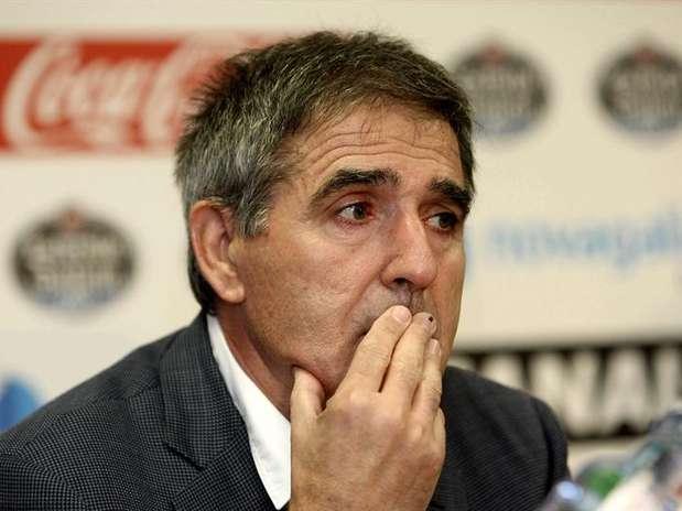 Paco Herrera deja el equipo vigués en puestos de descenso, a cuatro puntos de la salvación Foto: EFE en español