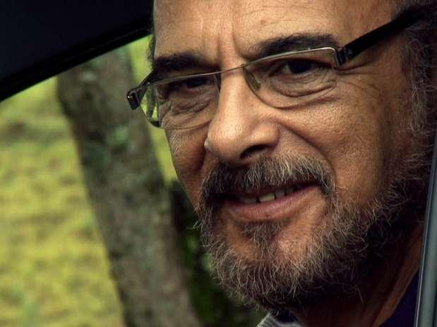 Há meses ele vinha sofrendo deproblemas renais. Na foto, Luizem seu último filme, 'E a Vida Continua...' Foto: Divulgação