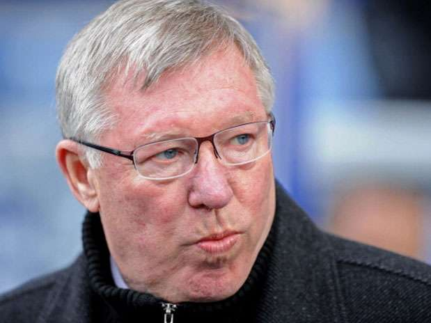 El técnico del Manchester United Sir Alex Ferguson Foto: Getty Images