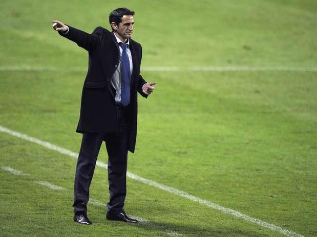 Manolo Jiménez podría tener las horas contadas en el Zaragoza. Foto: AFP