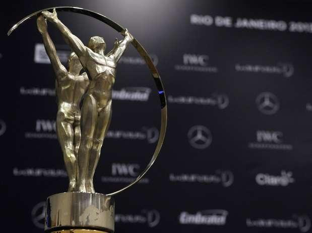 Cerimônia de entrega do Laureus será realizada no Rio de Janeiro às 19h (de Brasília) desta segunda Foto: Getty Images