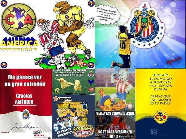 Clásico Chivas vs. América se calienta en las redes sociales ...