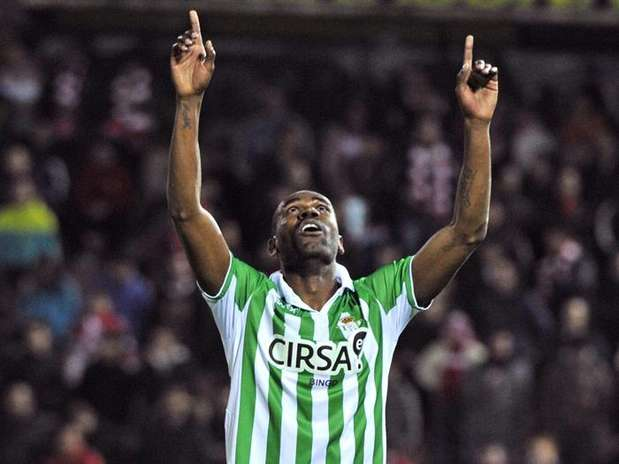 Paulao celebra el gol que hizo al Granada. Foto: EFE