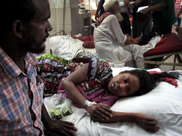 Merina sobreviveu três dias nos escombros do edifício  Foto: AP