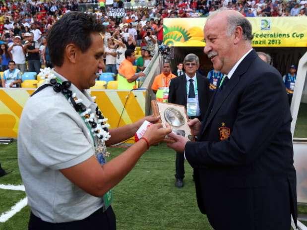 La selección de Tahiti y el post que se merecen