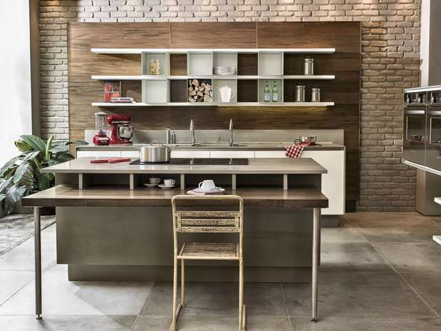 Cozinhas Com Bancadas submited images # Bancada Cozinha Modular