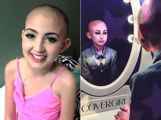 """Canal de Talia no You Tube é chamado de """"Maquiagem é minha peruca"""" Foto: Facebook / Reprodução"""