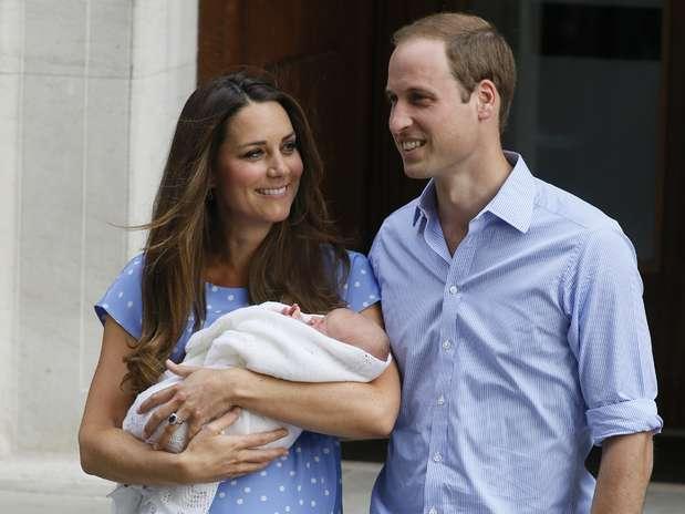 Bebé real: primeras fotos del hijo de Guillermo y Catalina. Foto: AP
