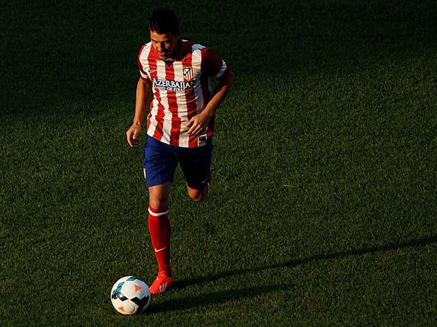 David Villa, jugador del Atlético de Madrid Foto: Getty Images