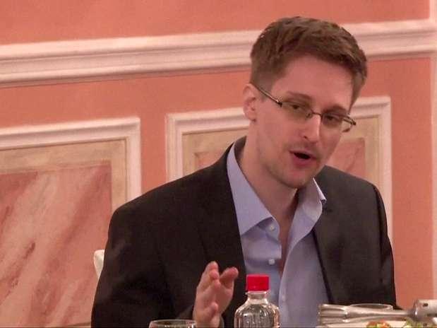 Edward Snowden está atualmente na Rússia, mas aguarda definição sobre asilo político Foto: AFP