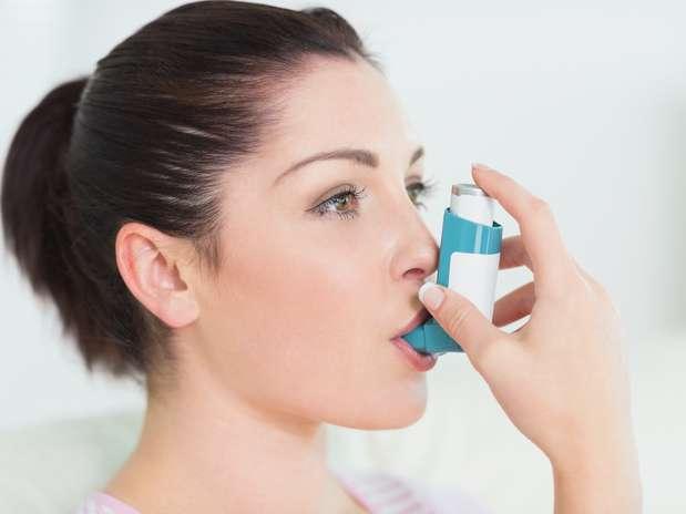 Asma pode piorar a noite