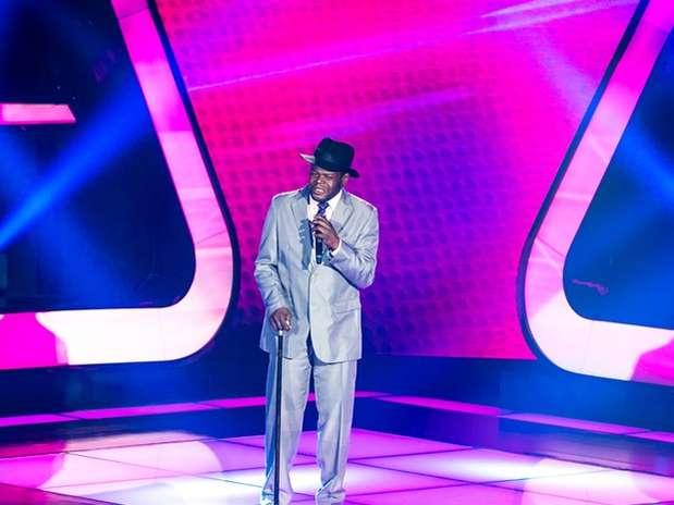 Dom Paulinho Lima foi eliminado do reality show 'The Voice Brasil' Foto: TV Globo / Divulgação