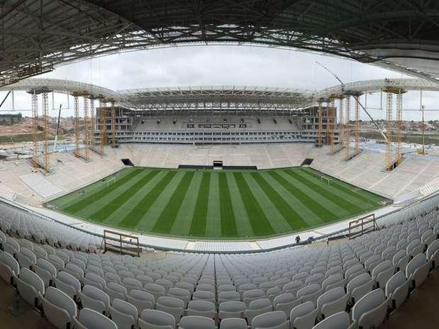 Estádio localizado emItaquera receberá a abertura da Copa do Mundo de 2014 Foto: Arena / Divulgação