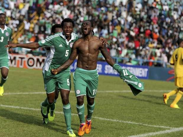 Nigerianos fizeram 2 a 0 para confirmar classificação Foto: Reuters