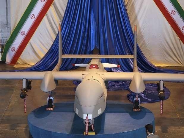 Drone pode ser equipado com mísseis e cujo raio de ação alcança 2 mil quilômetros Foto: AP