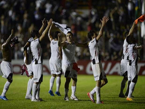 Sem poder jogar em seu estádio, Ponte disputou semifinal em Mogi Mirim (SP) Foto: Ricardo Matsukawa / Terra