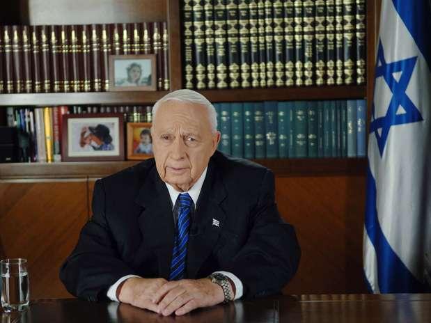 O ex-primeiro-ministro israelense Ariel Sharon estavaem coma desde que sofreu um derrame em 2006 Foto: Getty Images