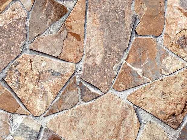 Adesivo imita pedra e madeira