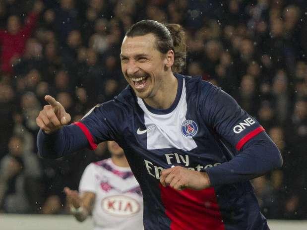 Ibrahimovic mais uma vez se destacou Foto: AP
