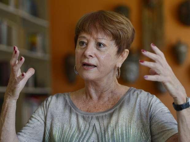 Julita Lemgruber foi a primeira mulher a comandar o sistema penitenciário do Rio de Janeiro entre 1991 e 1994 e hoje é coordenadora do Centro de Estudos de Segurança e Cidadania da Universidade Cândido Mendes (Cesec) Foto: Daniel Ramalho / Terra