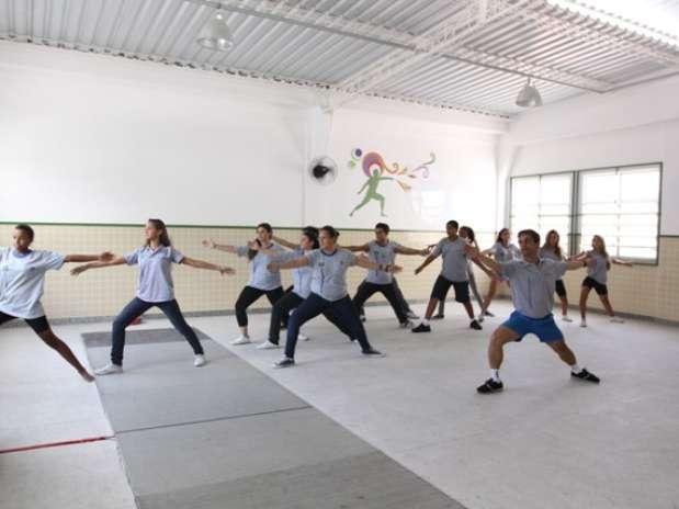 No Colégio Estadual Chico Anysio (CECA), as aulas são integradas e não são trabalhados apenas conteúdos, mas também habilidades socioemocionais Foto: Cris Torres-Seeduc/RJ / Divulgação