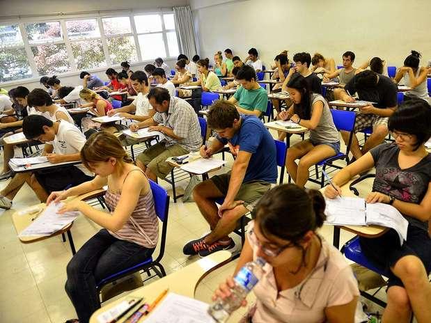 Mais de 159 mil candidatos se inscreveram para o vestibular da Fuvest Foto: Fernando Borges / Terra