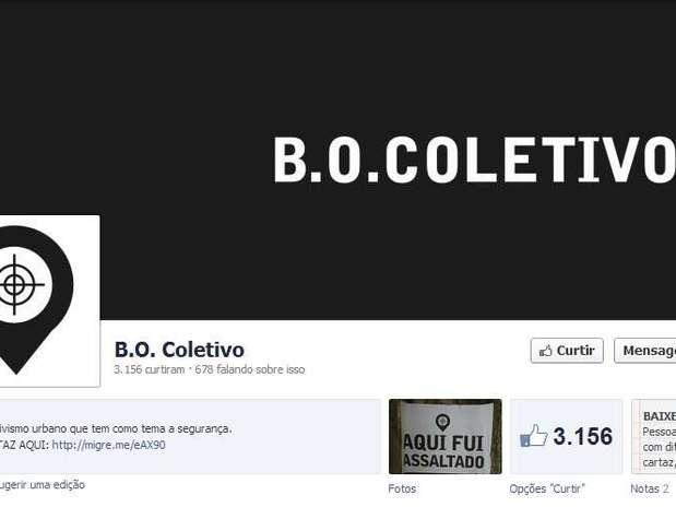Segundo os organizadores do B.O. Coletivo, há um modelo de cartaz disponível para download e qualquer pessoa pode colá-los nas cidades Foto: Divulgação