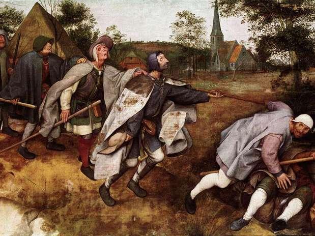 A parábola dos cegos Foto: Tela de Pieter Brueghel / Wikimedia
