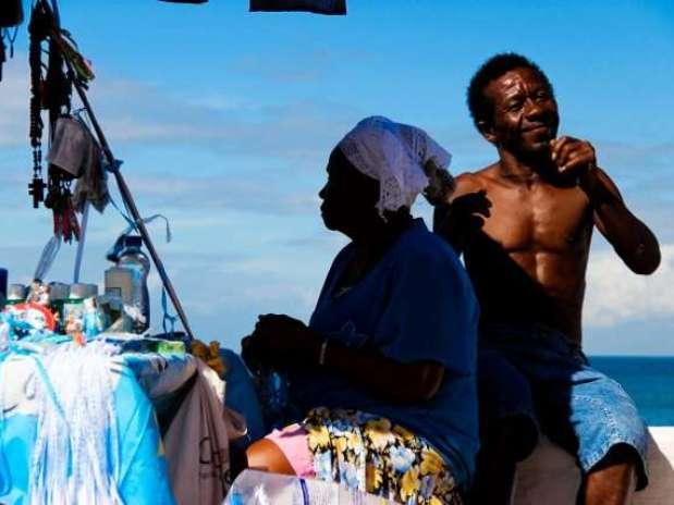 Internauta homenageia o Dia da Consciência Negra com foto registrada em Salvador, Bahia Foto: Julia Pontel / vc repórter