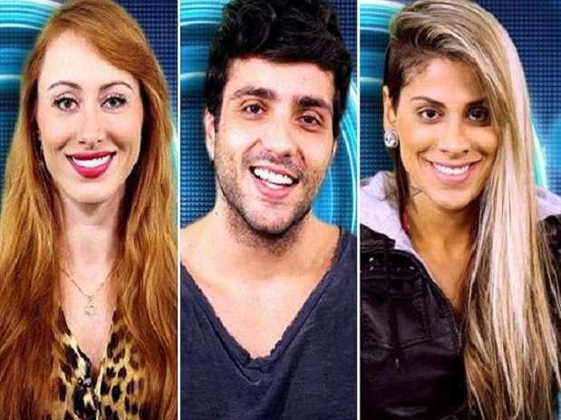 Aline, Junior e Vanessa vão disputar a permanência no programa Foto: TV Globo / Divulgação