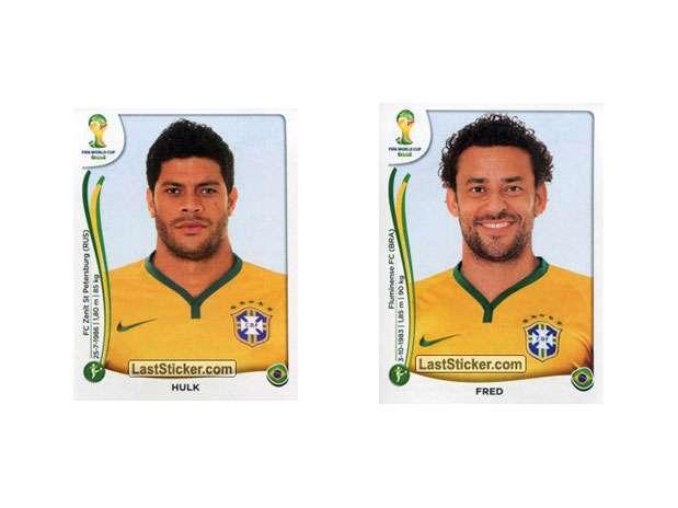 Hulk e Fred Foto: Last Sticker / Reprodução