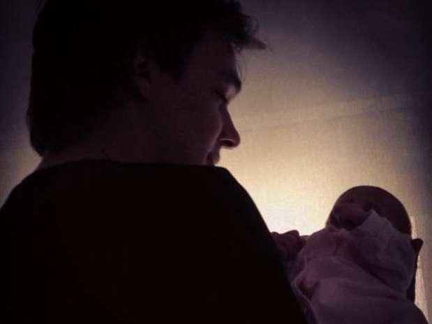 O vocalista do KLB é pai de primeira viagem Foto: Reprodução/Instagram