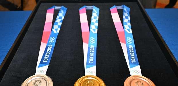 Tóquio-2020 apresenta medalhas e começa contagem regressiva