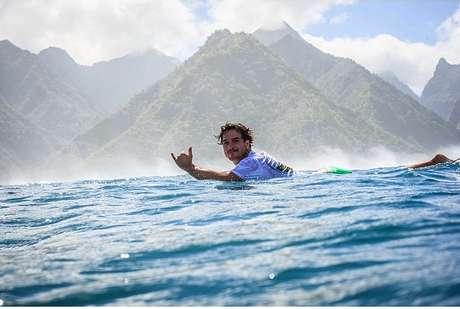Ricardo dos Santos era surfista profissional brasileiro Foto: Instagram / Reprodução