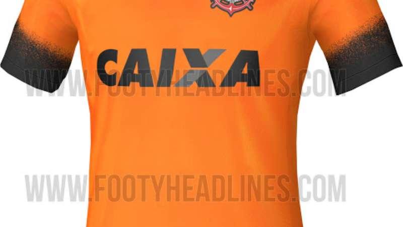 221065c465142 Novo terceiro uniforme corintiano deve ser laranja para homenagear