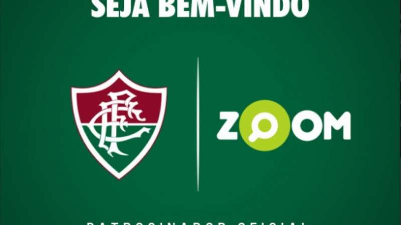 b44f1631dc Fluminense anuncia patrocínio do site Zoom até o fim de 2017