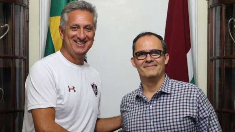 Fluminense anuncia novo acordo de patrocínio até o fim do ano. Saiba 497532eb20028