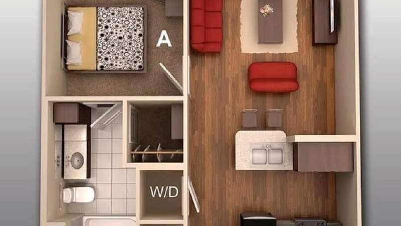 Simple 2 bedroom house plans