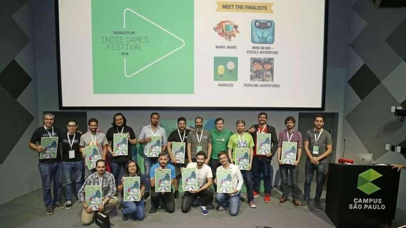 Resultado de imagem para Google Play Indie Games Festival para a América Latina