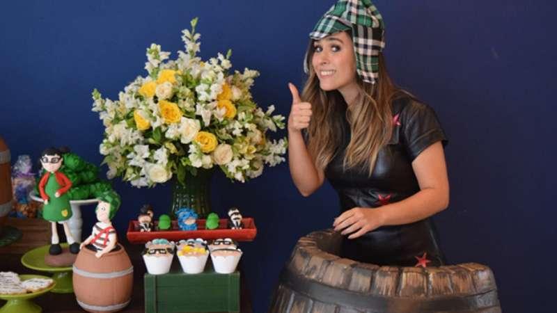 Adriana Esteves Relembra Abusos Como Modelo Horrível: Tatá Werneck Comemora 35 Anos Com Festa De Tema 'Chaves