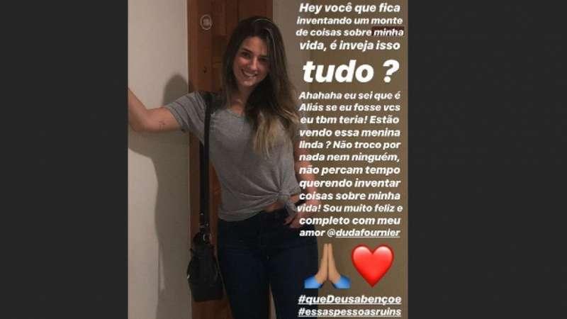 Paquetá nega boatos de romance com mulher de Diego Alves