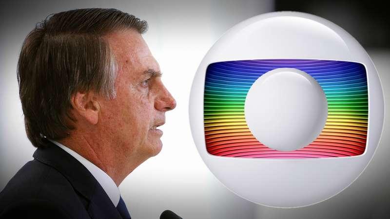 Presidente Bolsonaro começa sua cruzada contra a Globo